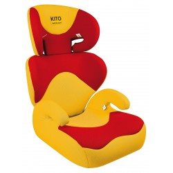 silleta infantil Kitto ECO Amarillo y Rojo