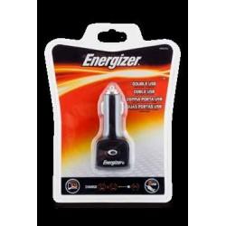 Cargador doble USB para coche Energizer