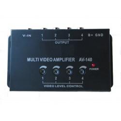 Amplificador de señal de vídeo. av-140