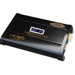 Amplificador cuatro canales. CARBONO 4210 PRO