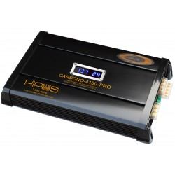 Amplificador cuatro canales. CARBONO 4150 PRO